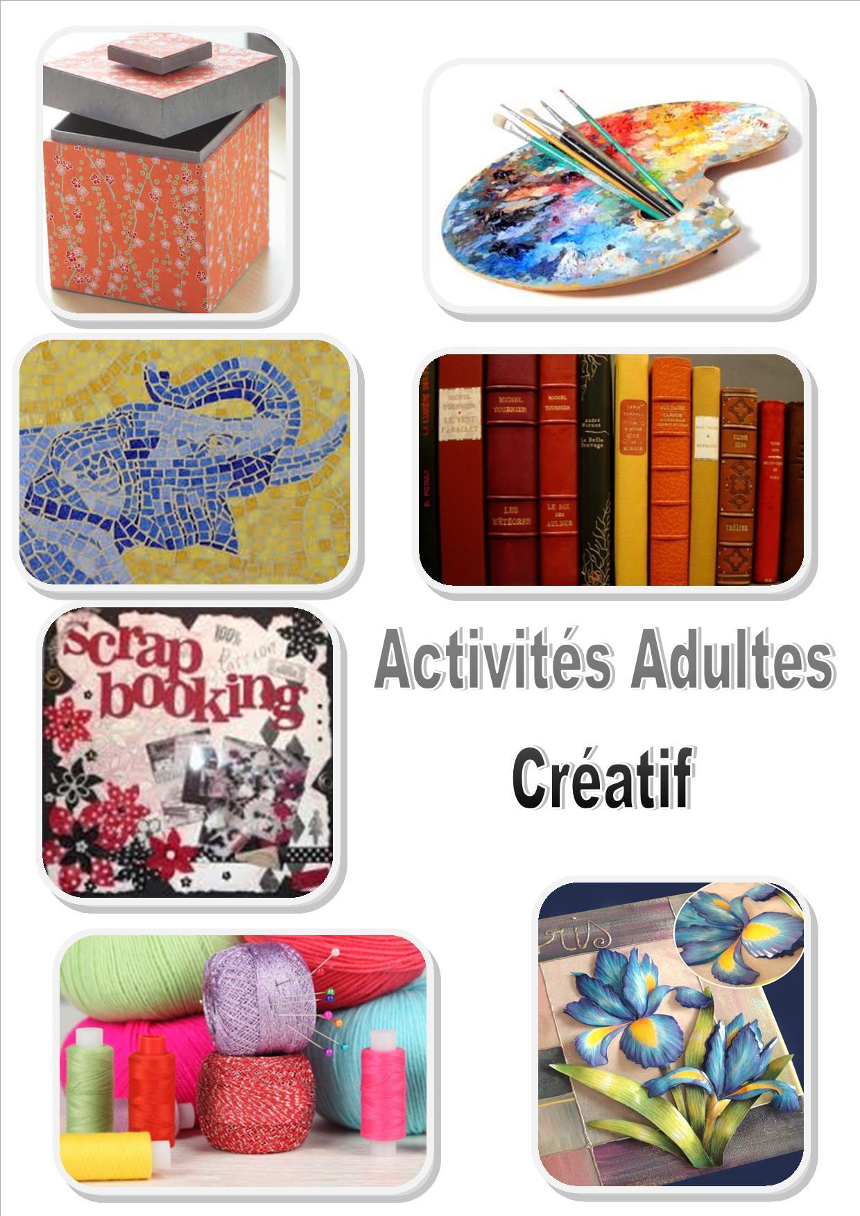 site accueil adultes créatif