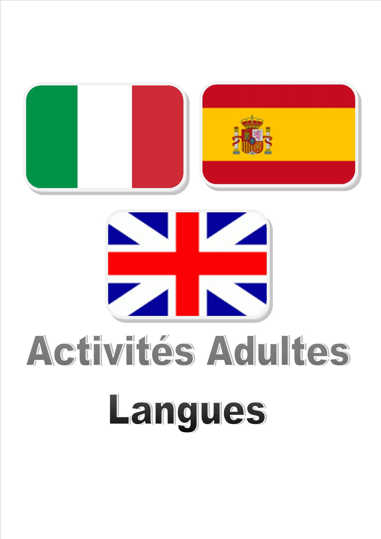 site accueil adultes langues