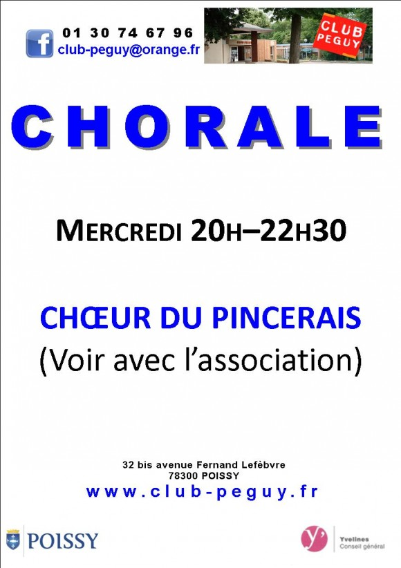 flyers chorale 2013 2014