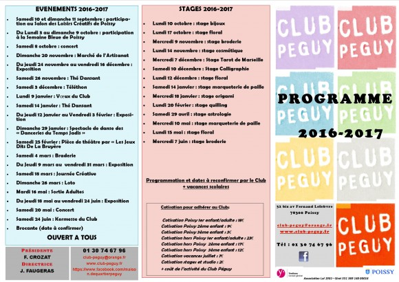 programme rentrée 2016-2017 1